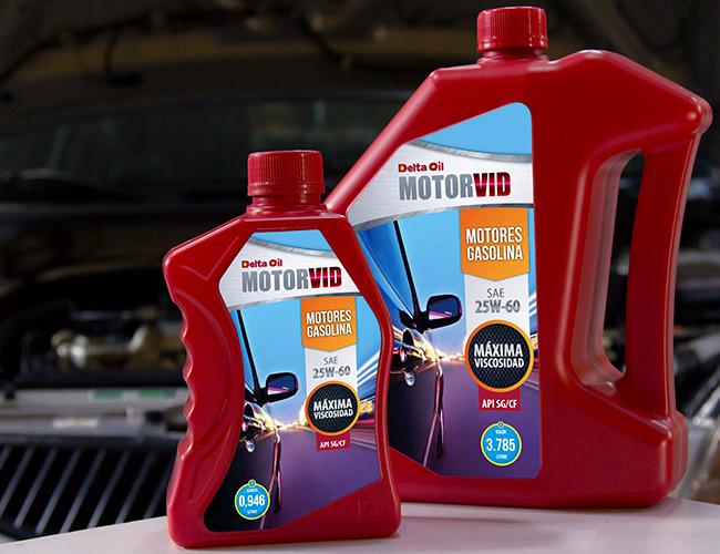 Delta Oil - Motorvid SAE 25W-60 API SG/CF