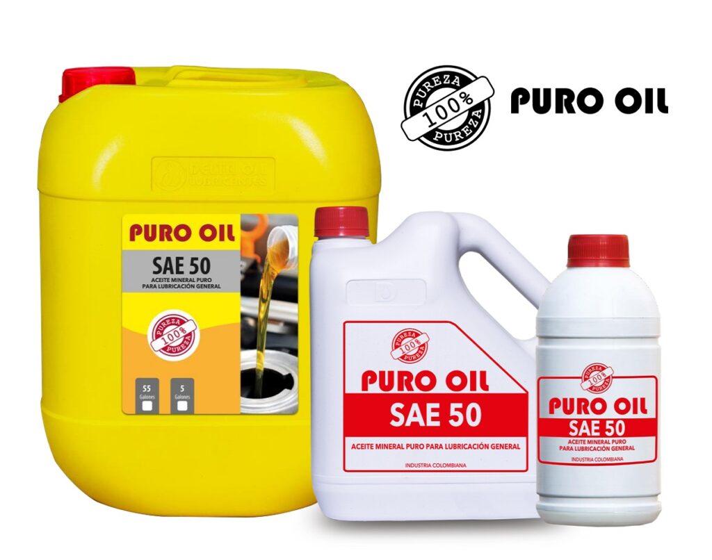 Puro Oil Sae 50